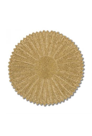 Gold Flower Series Placemat