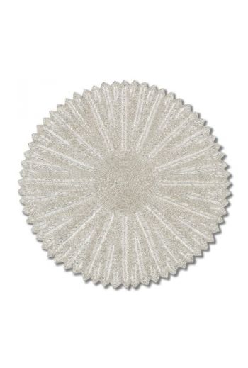 Silver Flower Series Placemat