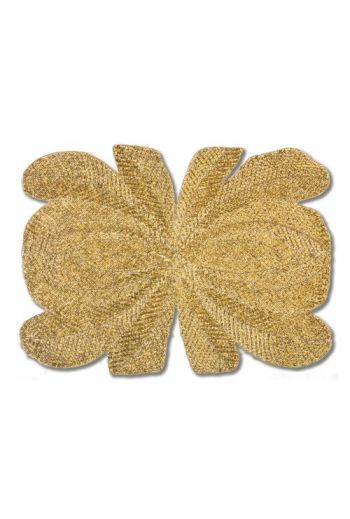 Gold Peacock Placemat