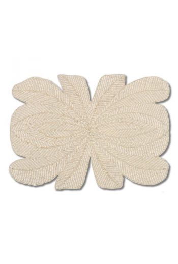 Ivory Peacock Placemat