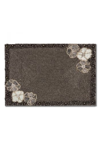 White Flower Placemat