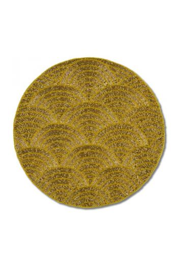 Gold Wave Placemat