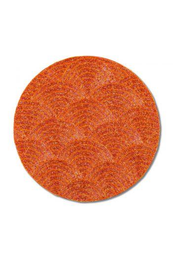 Orange Wave Placemat