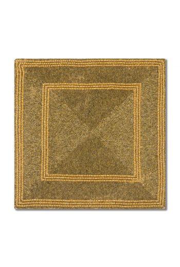 Gold Square Mod Placemat