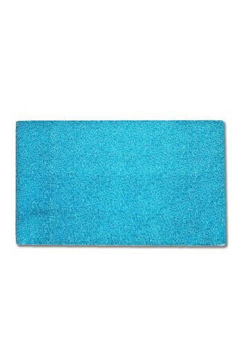 Blue Color Flat Glass Rectangle Plate