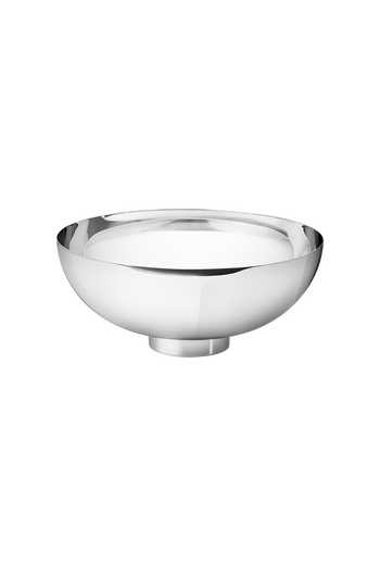 Georg Jensen Isle Bowl, Large Mirror Polished Stainless Steel - H: 4.06 inches. Ø: 9.45 inches.