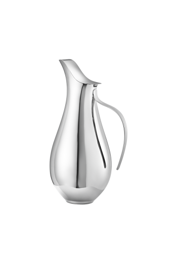 Georg Jensen Isle  Pitcher 1.2 L Mirror Polished Stainless Steel - V: 1.2 L.