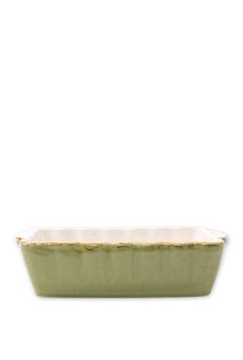 Italian Bakers Green Small Rectangular Baker