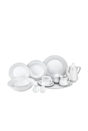 Joseph Sedgh 57 Pc Porcelain Dinnerware Set - Service for 4