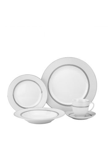 Joseph Sedgh 20 Pc Porcelain Dinnerware Set - Service for 4