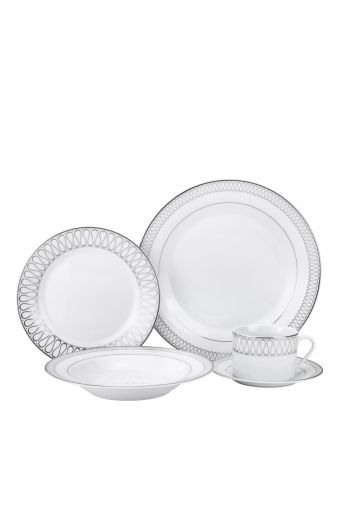 Joseph Sedgh 20 Pc Porcelain Dinnerware Set - Service for 4