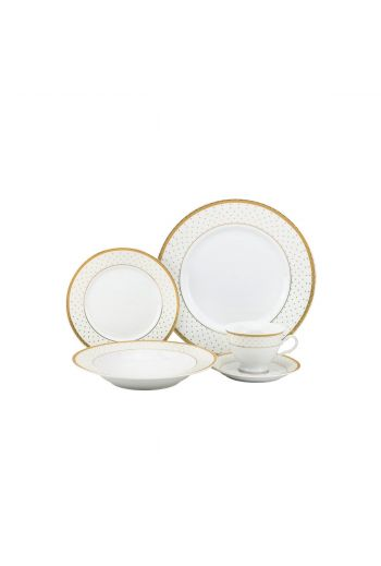 Joseph Sedgh Anna 20 Pc Porcelain Dinnerware Set - Service for 4