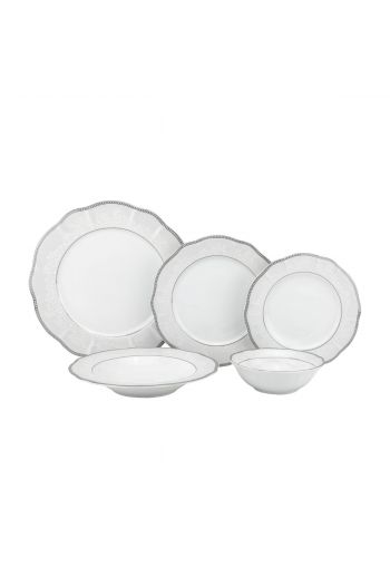 Joseph Sedgh Cantella 20 Pc Porcelain Dinnerware Set - Service for 4