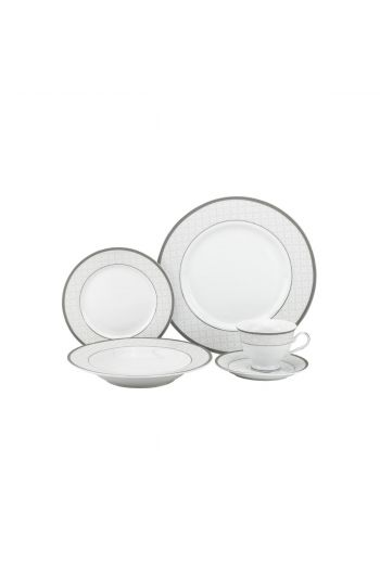 Joseph Sedgh Ora 20 Pc Porcelain Dinnerware Set - Service for 4