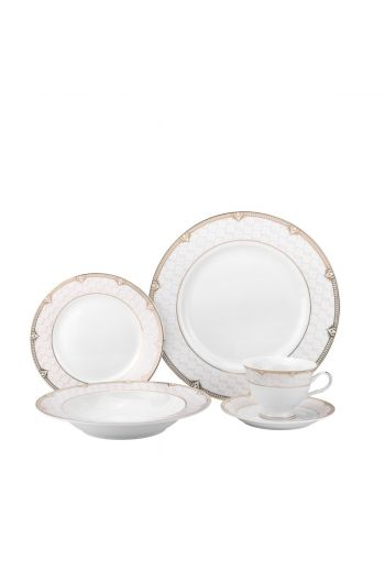 Joseph Sedgh Sandra 20 Pc Porcelain Dinnerware Set - Service for 4