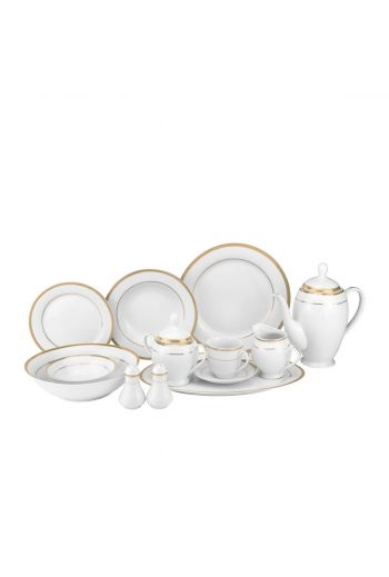 Joseph Sedgh Sophia 57 Pc Porcelain Dinnerware Set - Service for 8