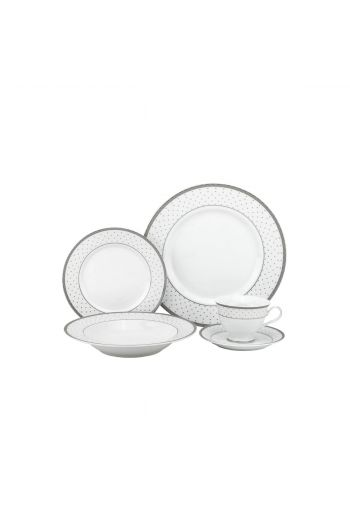 Joseph Sedgh Yafa 20 Pc Porcelain Dinnerware Set - Service for 4