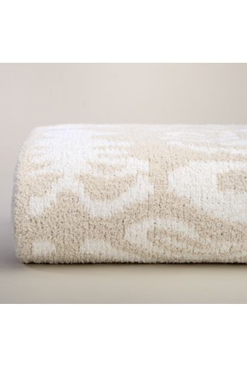 "Kashwere Signature Malt/Creme Damask Throw - 52"" x 70"""