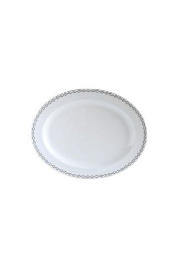 """Bernardaud Loft Oval Platter - 13"""""""