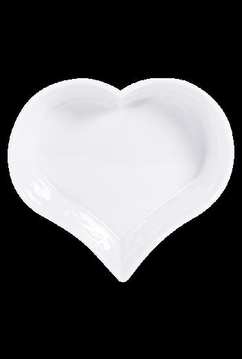 "Bernardaud Louve Heart Dish - Measures 5"" w"