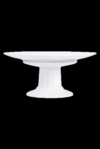 "Bernardaud Louve Footed Cake Plate - Measures 10½"" w x 10½"" d x 6½"" h"