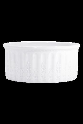 """Bernardaud Louve Round Casserole Dish - Measures 3½"""" w 3½"""" d x 8"""" h"""