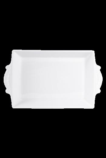"""Bernardaud Louvre Rectangular Baking Dish 15½"""" w x 8½"""" d x 2"""" h"""