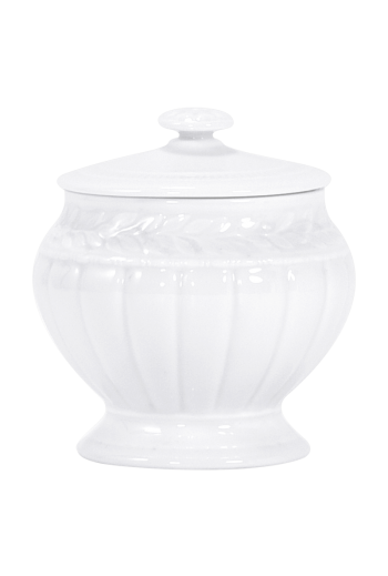Bernardaud Louve Sugar Bowl - Holds 12 cuups