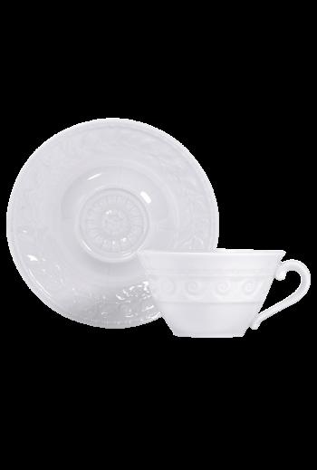 Bernardaud Louve Tea Cup & Saucer