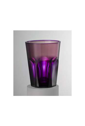 Mario Luca Double Face Tumbler Violet - Set of 6