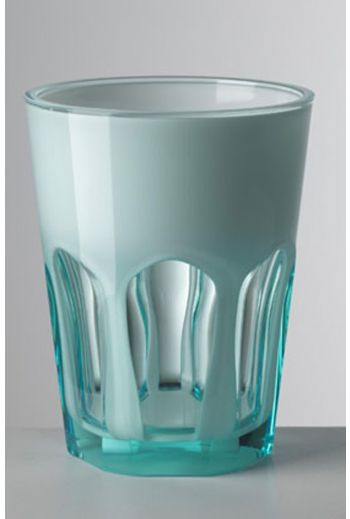 Mario Luca Double Face Tumbler Turquoise - Set of 6