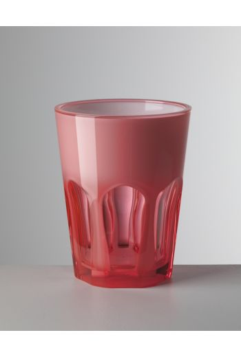 Mario Luca Double Face Tumbler Fuschia - Set of 6
