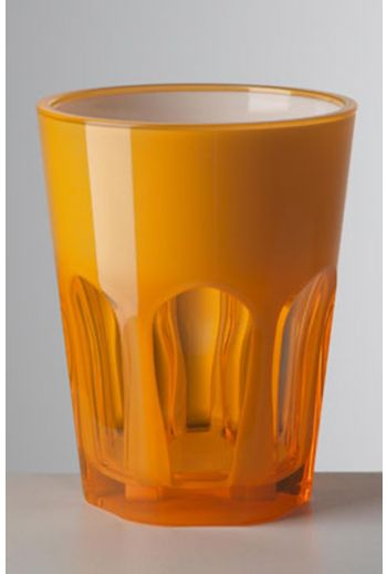 Mario Luca Double Face Tumbler Orange - Set of 6