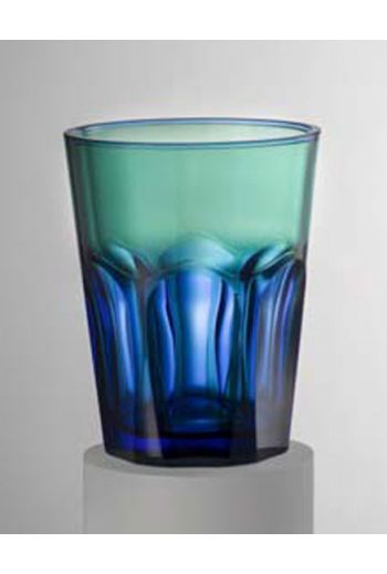 Mario Luca Double Face Tumbler Blue/Green - Set of 6