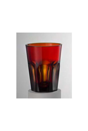 Mario Luca Double Face Tumbler Scarlet - Set of 6