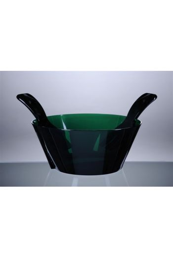 Mario Luca Salad Bowl w/ Servers Green