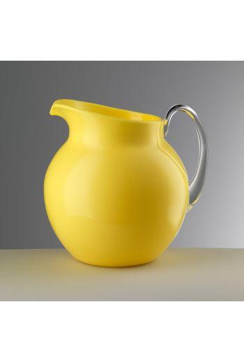 Mario Luca Palla Glazed Pitcher Yellow