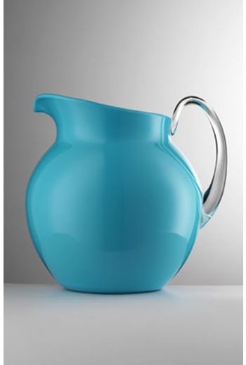 Mario Luca Palla Glazed Pitcher Turquoise