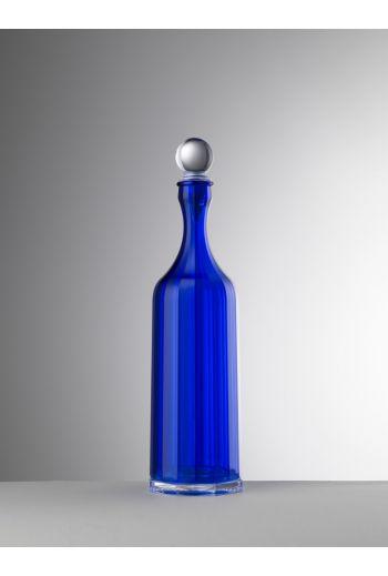 Mario Luca Bona Decanter Sealed Stopper Blue