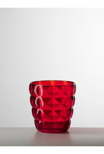 Mario Luca Diamante Tumbler Red - Set of 6