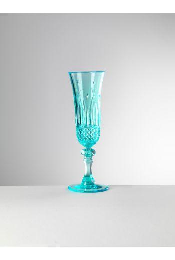 Mario Luca Italia Flute Turquoise - Set of 6