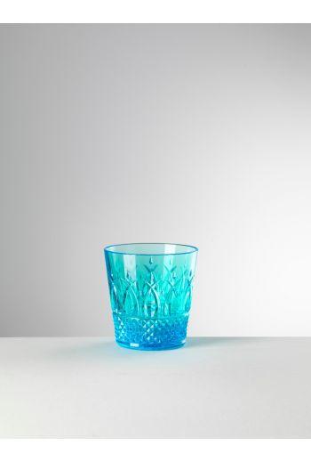 Mario Luca Italia Tumbler Turquoise - Set of 6