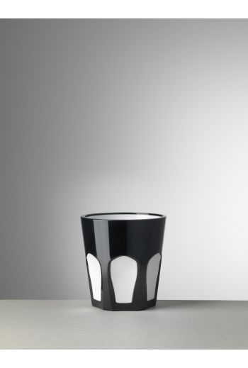 Mario Luca Gulli Tumbler Black/White - Set of 6