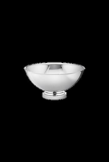 Georg Jensen Manhattan Mirror Polished Stainless Steel Bowl, Medium - H: 3.94 inches. Ø: 7.87 inches.