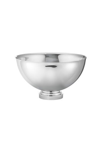 Georg Jensen Manhattan Champagne Bowl Mirror Polished Stainless Steel - H: 9.06 inches. Ø: 15.75 inches.