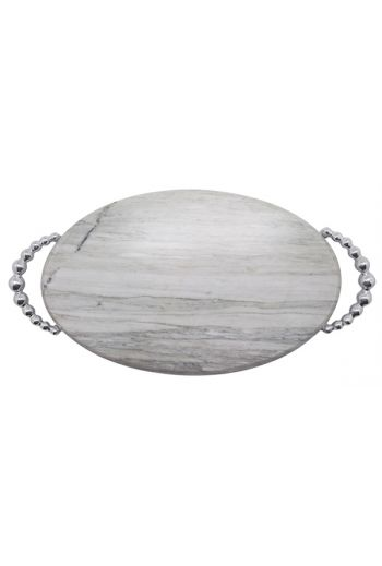 Pearled Marble Serving Board