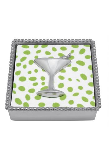 Cocktail Beaded Napkin Box