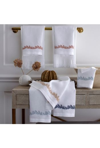 MATOUK Atoll Guest Towels 17x21 (Set of 2) - Available in 4 Colors