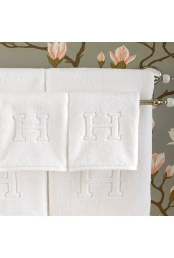 MATOUK Auberge Bath Towel 30x60 (Set of 2) - Available in White