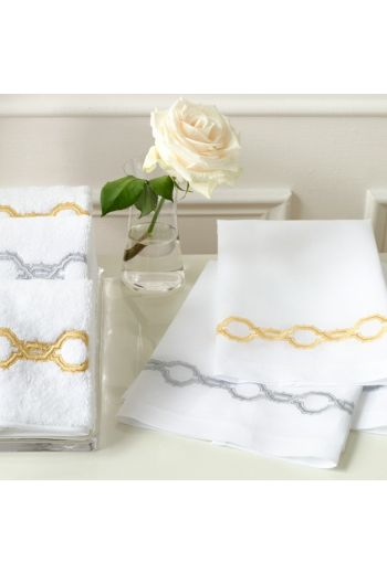MATOUK Marrakech Guest Towels on Linen 17x21 (Set of 2) - Available in 2 Colors